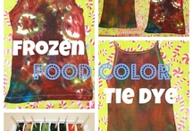 Food coloring crafts