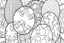 Coloring pages / Coloring pages for kids and grown ups