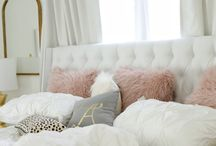 rose-gold bedroom ideas