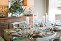 Dining & Tablescapes / We love to dine in style!