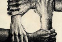 Sketches Of Hands Pencil