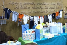 baby shower gift table / by Greta Powell
