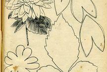 выкройка цветов