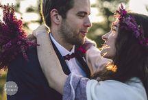 Ślub - kwiaty we włosy, bukiety
