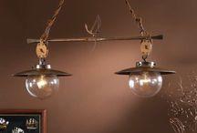Lámparas rústicas / Lámparas de estilo rústico con clase y distinción.