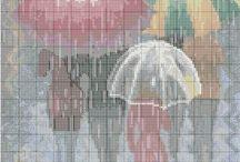 haft parasole