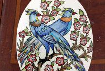 Çini kuşlar