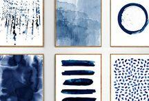 printable abstract wall art decor
