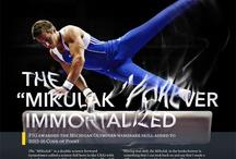 Sam Mikulak :: Typography