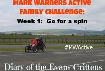 Active Family / Evans-Crittens are taking part in an Active Family Challenge during the month of May.