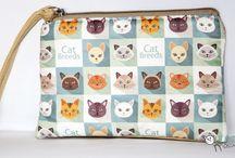 Táskák / Cipelni, mutogatni - macskás minták minden táskán!