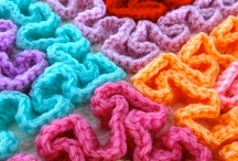 Barradinhos , bicos e Fores em crochet