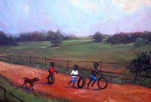 African-American Art Collectors / Collecting original  African-American artworks and collectible reproductions