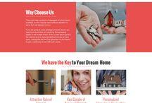 home loan landing page