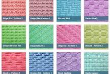 knit purl stitches