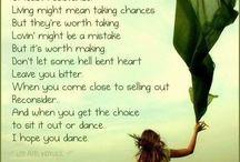 ♫ Lyrics I ♥ ♫ / by Kellie Norris