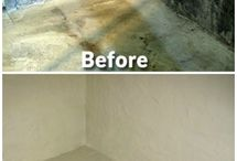 Water proofing rooms