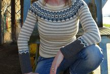 Knits for Cassie (selfish knitting)