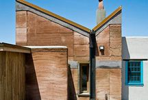 rammed earth concrete house