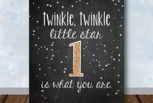 Twinkle Twinkle 1st Birthday
