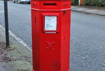 Penfold Pillar Boxes / Original Penfold Post Boxes designed by JW Penfold and made between 1866 and 1879.