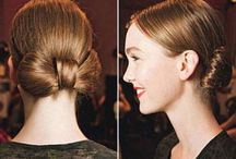 hairstyle ideas / by Claire Courrier