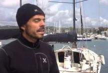 Roma X 1 / La regata in solitario vinta da Gaetano nel aprile 2015