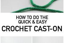 Crochet cast-on