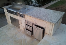 Outdoor Kitchens / by Add-A-Deck of Texas
