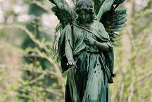 Cemetary Statues  / by Kim Thompson