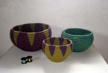 Coiled baskets - løbbinding - løpbinding