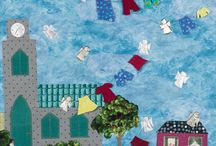 My own art quilts / Mine art quilts