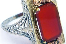 Ring Inspiration: Take #1 / Ring Designs for Inspiration #1 / by Jill Hoffman