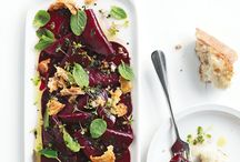 Beets / Meals, side dishes, appetizers, and salads that use beets.