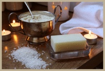 Bath Products / For that precious hour when the demands of the day are behind you and you run a deep, fragrant bath; fill the room with candlelight and music; and immerse yourself in the uplifting, sensory magic of the moment.