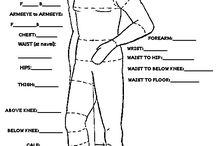 Sewing: Measure and Croquis