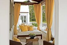 Outdoor Curtains / Outdoor Curtains and Home Decor / by Michael Whalin