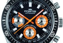 Fortis Watches / Fortis have always led the field in innovation and quality and in 1926 they presented the world's first self winding wristwatch in series production. Since then Fortis have won many prestigious awards for their work in the field of Horology, of particular note was the advent in 1943 of the first waterproof wristwatch. As a longtime partner of space organisations, FORTIS invests in modern technologies. http://www.jurawatches.co.uk/collections/fortis-watches