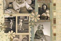 scrapbook album famille