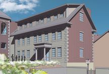 Wattles Jacobs Education Center Construction / Follow the progress of our newest addition to the Museum Campus, The Wattles Jacobs Education Center, set to open in August 2015 / by New Bedford Whaling Museum