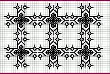 Needlework - Blackwork