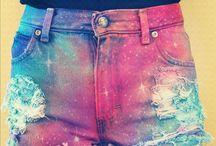 shorts galaxi