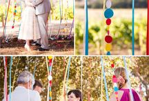 Rainbow Weddings / Porque no todas las bodas son en tonos pastel!