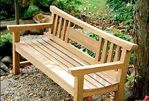 Garden bench - lavička