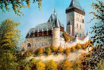 старинные замки