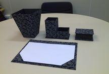 CARTONAGEM / Kit escritório
