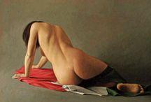dipinti di nudi femminili