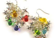 Christmas Earrings / DIY inspiration galore!