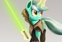 Pony Star Wars ¤=[]:::::>
