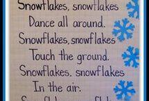 Báseň Snowflakes